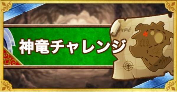 「神竜チャレンジ」3ラウンド&ウェイト170以下攻略!