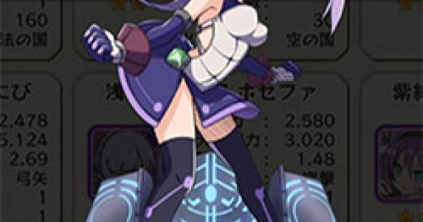 「浅紫の格闘家」ホセファの評価とステータス