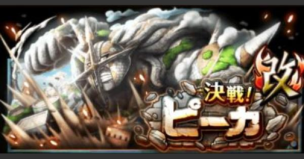 ピーカ「改」斬撃タイプ限定攻略 決戦