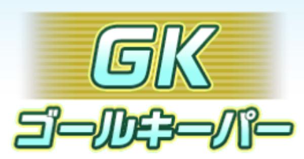 GK(ゴールキーパー)の基礎能力査定一覧