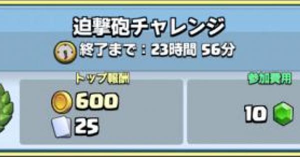 迫撃砲チャレンジ開催!