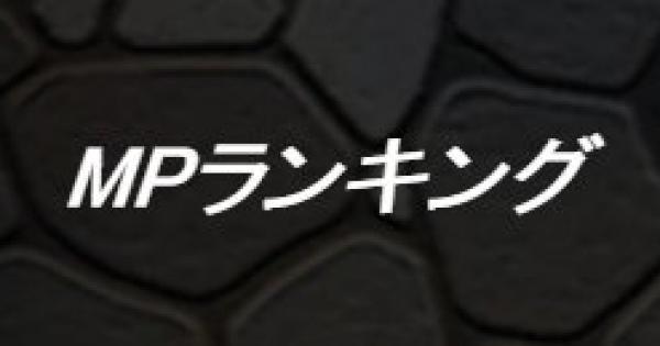 MPモンスターランキング