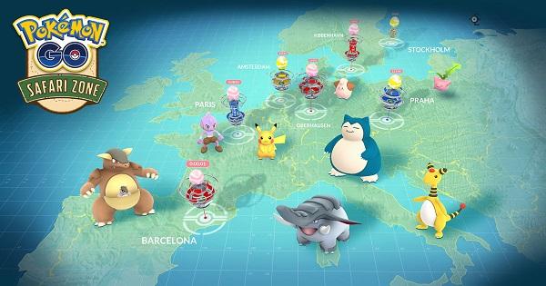 ヨーロッパでリアルイベント「サファリゾーン」が開催!