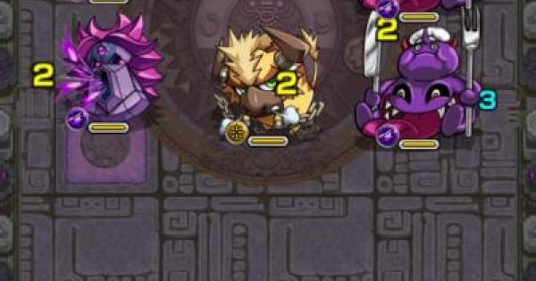 常闇の神殿【好敵手】攻略!   英雄の神殿(月曜・金曜)