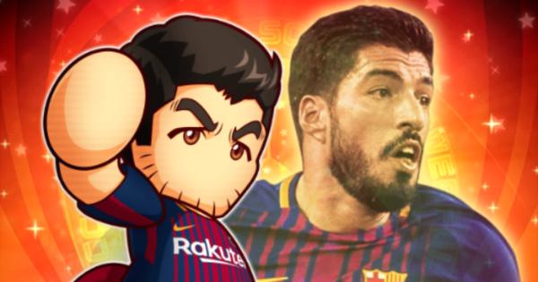 スアレスの評価とイベント|FCバルセロナコラボ
