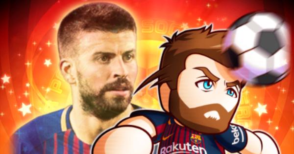 ピケの評価とイベント FCバルセロナコラボ