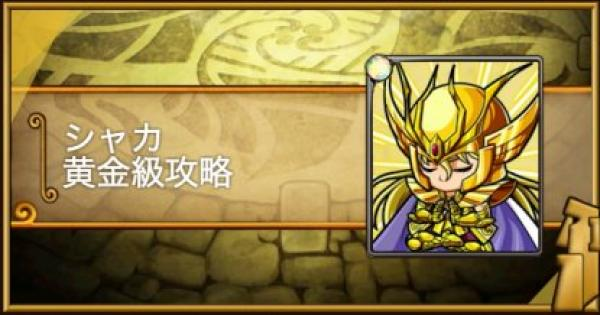 シャカ黄金級攻略|黄金十二宮