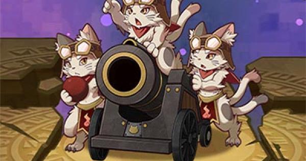赤猫砲兵の評価と使い方