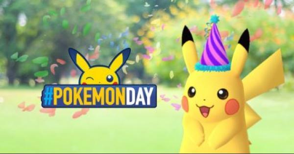 ポケモン誕生日イベントが開催!