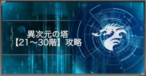 異次元の塔-風と大地の章-【21~30階】攻略
