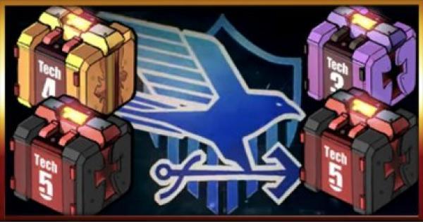 クロキッド装備箱(ユニオン)から排出される装備一覧