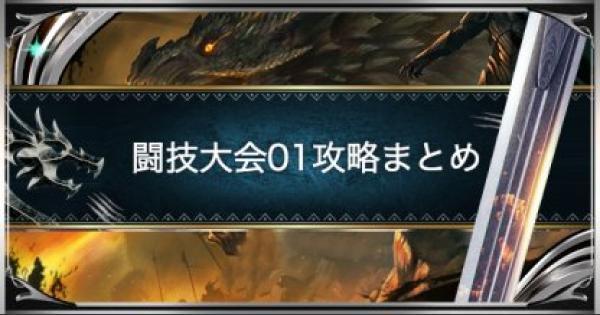 闘技大会01(プケプケ)のSランクを取る方法!
