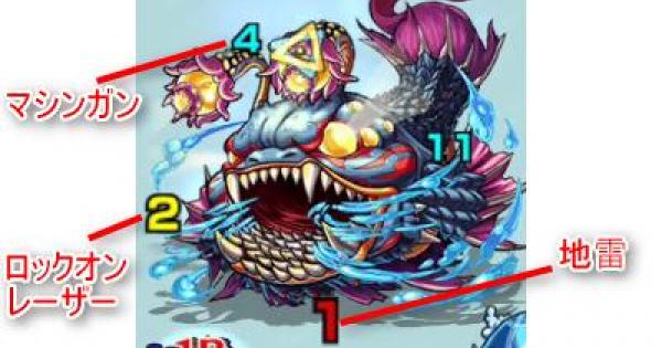 デプス【極】攻略「深海のクリーチャー」パーティ構成