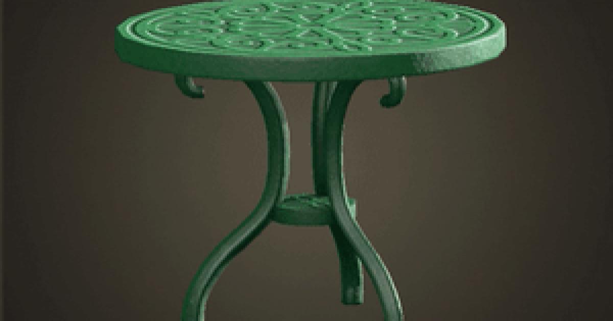 アイアン ウッドロー テーブル あつ 森