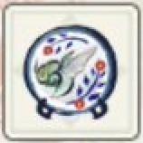 大翔蟲の大絵皿