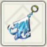 氷結シラヌイカのイヤリング