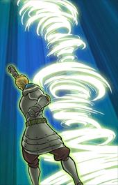 王国の期待の星ハウザー必殺技