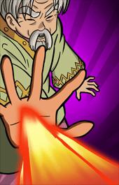 燃え上がる炎ケインスキル2