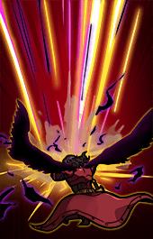 魔神族の精鋭フラウドリンスキル1