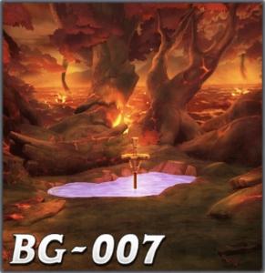燃え上がる妖精王の森
