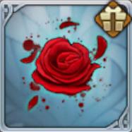 血の色の薔薇