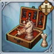 チェス駒のセット