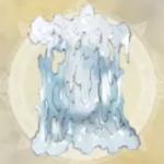 白き月の霜柱