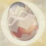 巨鳥の大卵