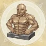 とある武器職人の像