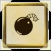 (爆弾)のアイコン画像