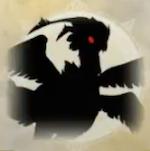 亡き巨鳥の影