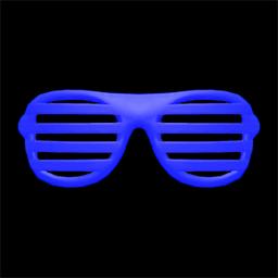 ブラインドサングラス青青