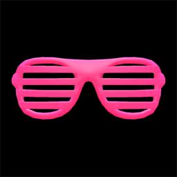 ブラインドサングラスピンクピンク