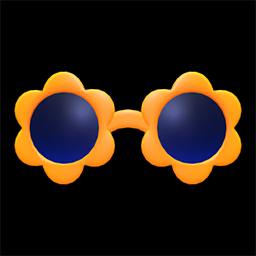 あつ森 フラワーサングラスの入手方法と色パターン あつまれどうぶつの森 ゲームウィズ Gamewith