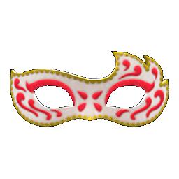 マスカレードなマスク赤白