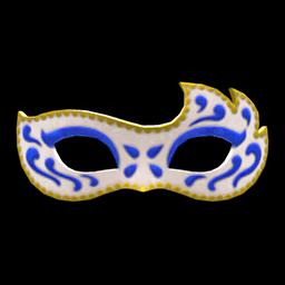 マスカレードなマスク青白