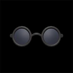 ちいさいサングラス黒黒