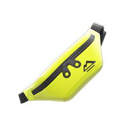 ボディバッグ黄黒