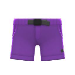 アウトドアパンツ紫紫