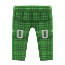 ボンテージパンツ緑緑