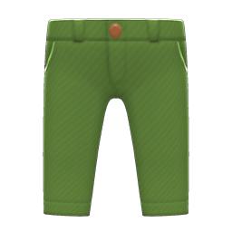 チノパン緑緑