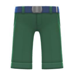 がくせいふくのズボン緑青