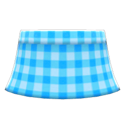 ギンガムチェックのスカート水水