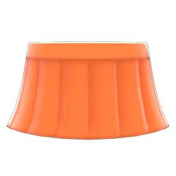セーラーふくのスカートオレンジオレンジ