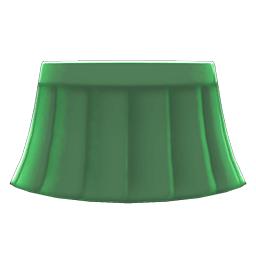 セーラーふくのスカート緑緑