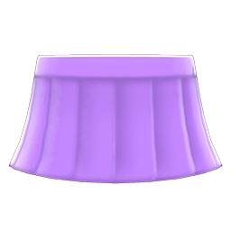 セーラーふくのスカート紫紫