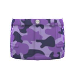 めいさいスカート紫紫