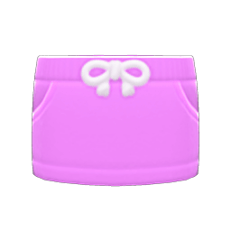 スウェットスカートピンクピンク