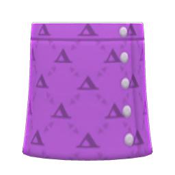 ケイトのスカート紫紫