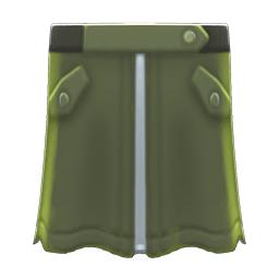 MA-1スカート緑緑